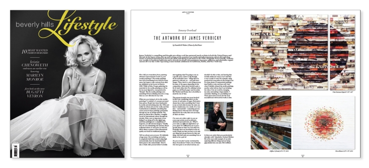 James Verbicky Feature Interview in Beverly Hills Lifestyle Magazine