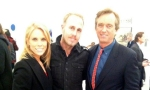 James Verbicky with Robert F. Kennedy Jr. & Cheryl Hines