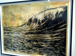 """""""Dark Wave"""" by Shepard Fairey"""