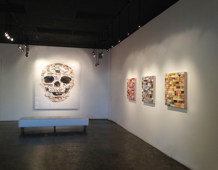 Cranes Sont En / James Verbicky / Installation, Madison Gallery, Jan. 2013