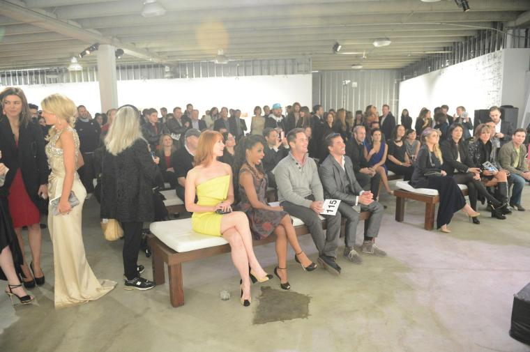 Crowd at the 2013 Art of Elysium 'Pieces of Heaven' Auction