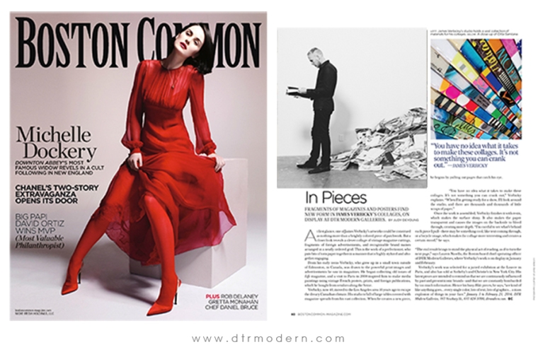 Boston Common Mag Features James Verbicky, Holiday 2013